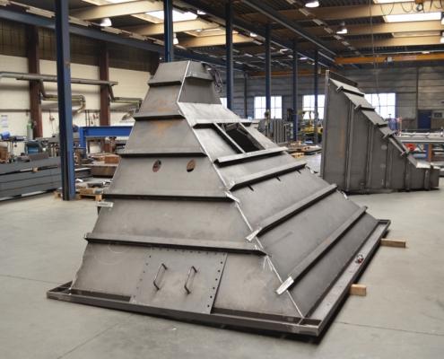 Neco staalbouw - Rookgaskanalen met hoge kwaliteitseisen