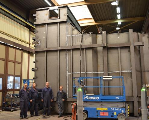 Neco staalbouw | Rookgaskanalen met hoge kwaliteitseisen