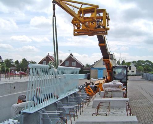 Neco staalbouw - Viaduct A20 Nesselande