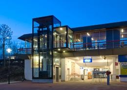 Neco staalbouw - Station Capelle Schollevaar